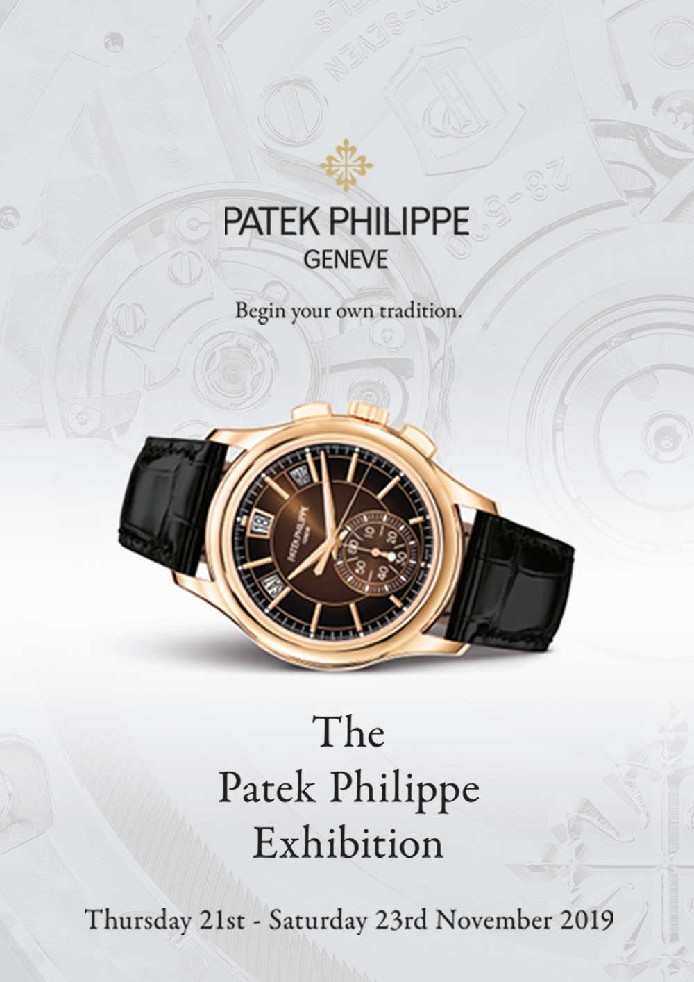 THE PATEK PHILIPPE EXHIBITION