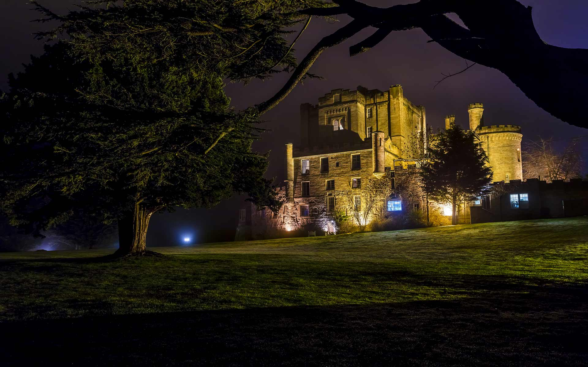 THE DALHOUSIE CASTLE HOTEL AND AQUEOUS SPA
